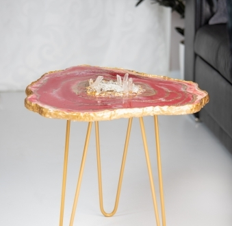 Stół z żywicy – romantyczny luksus